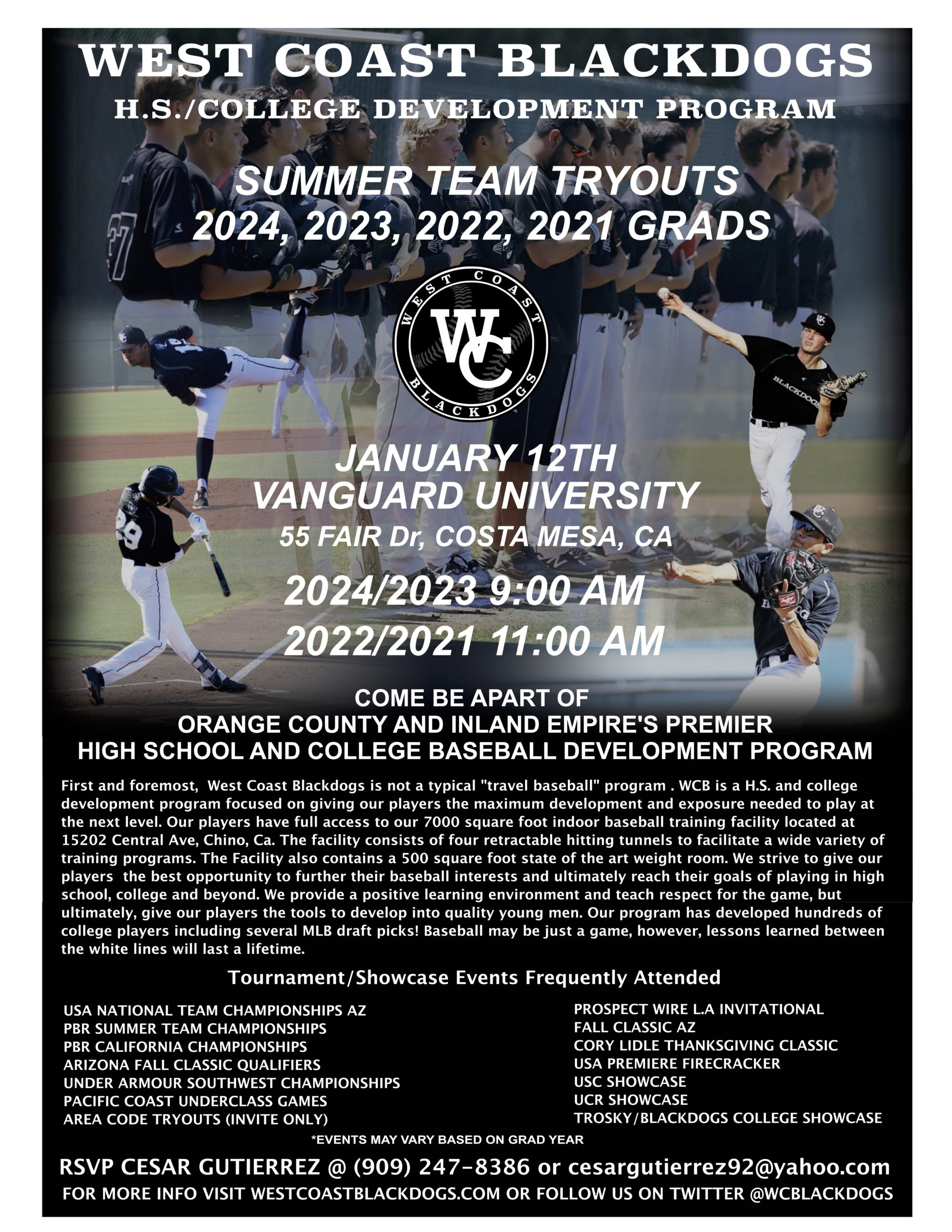 TRYOUT FLYER 2020